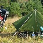 野池にてバスバギング、キャス錬、デイキャンプ
