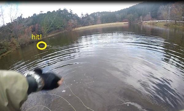 段戸湖フライフィッシング1
