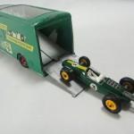 ロータスF1&BPトランスポーター 英マッチボックス ミニカー