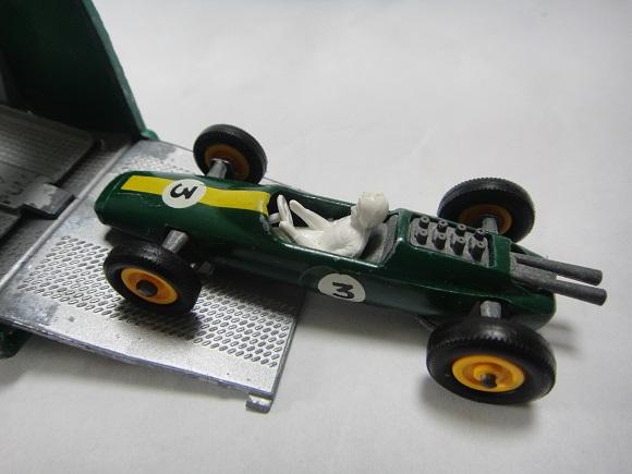 ロータスF1&BPトランスポーター ミニカー_4