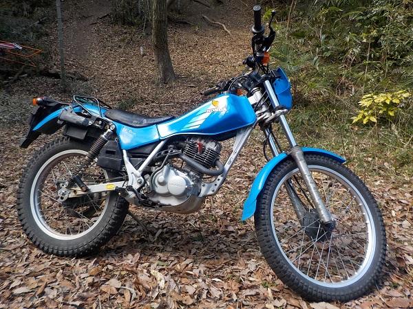 バイク遍歴6 TL125 ペガサス