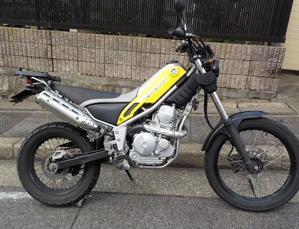 ヤマハのトリッカー(XG250)