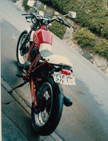 バイク遍歴3 FTR250