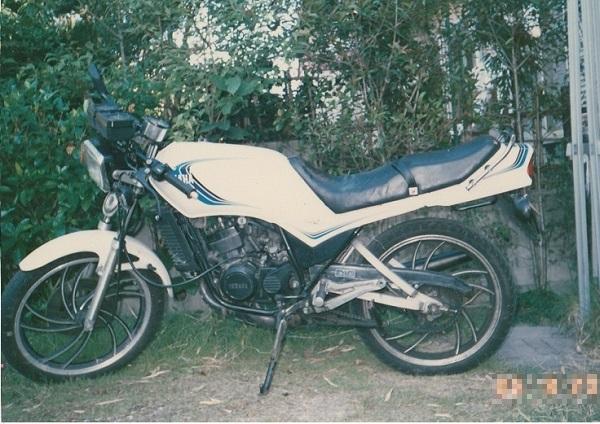 バイク遍歴1 RZ125