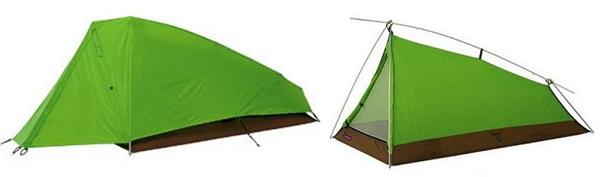 モンベルのツーリング テント ムーンライト