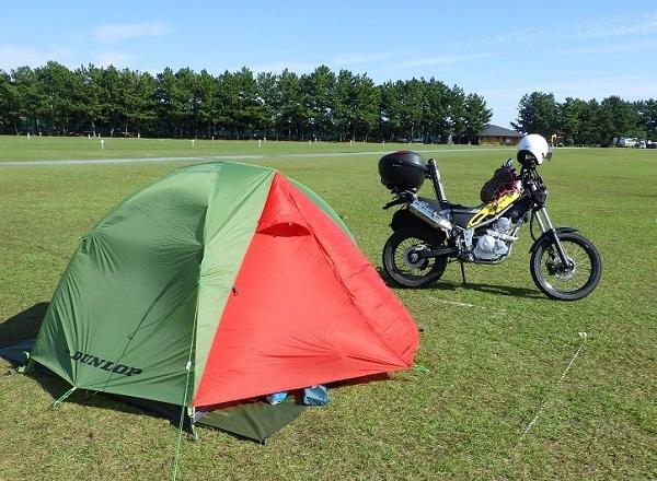 バイク ツーリングに最適なテント