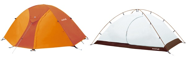モンベルのクロノスドーム テント