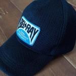 ダイソーの200円キャップ帽子と198円のワッペンで・・・