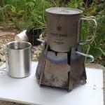 スノーピーク450チタンマグカップに収納できるダブルマグ