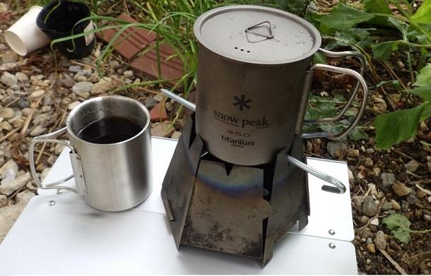シングルマグとダブルマグでコーヒー