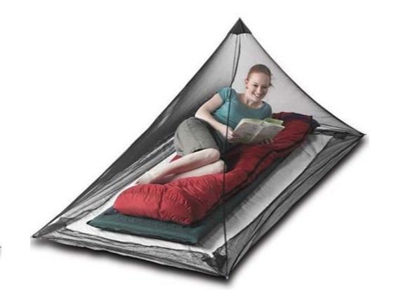 アウトドア用のモスキートネット・蚊帳