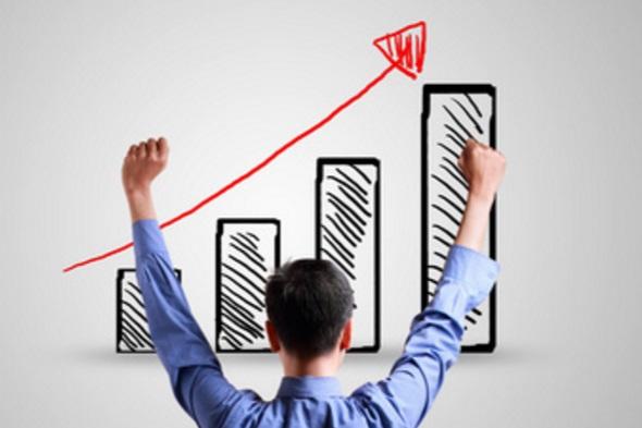 指数関数定期成長のイメージ
