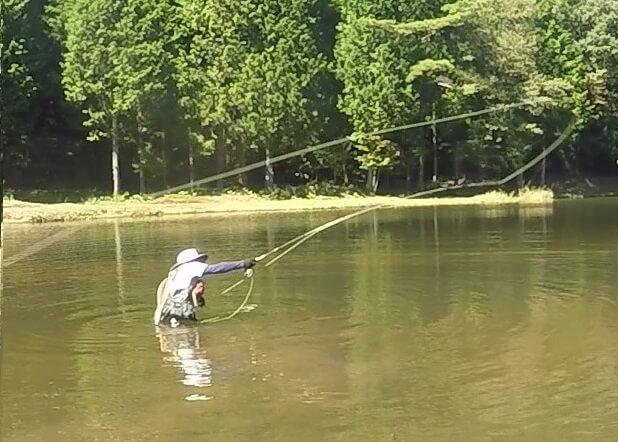 ウェーダーがあると釣りが10倍楽しくなる