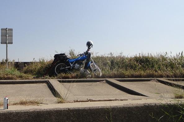 バイクで釣り~3