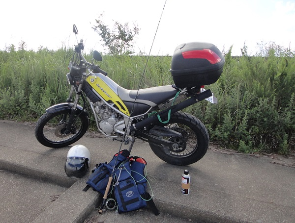バイクで釣り~6