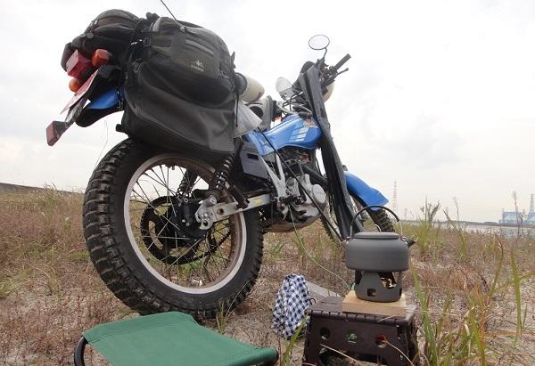 バイクで釣り~1