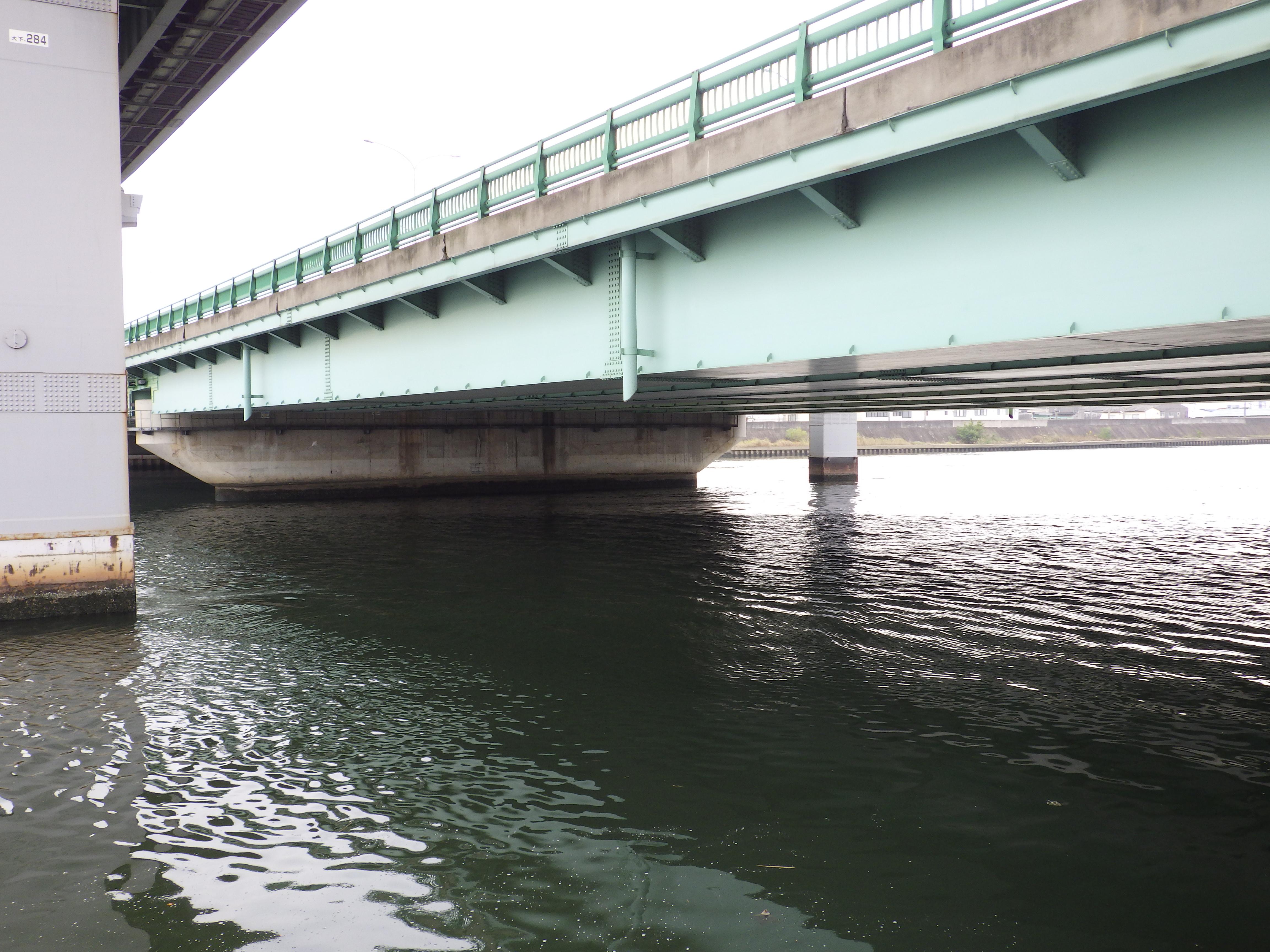天白川シーバスポイント国道23号橋