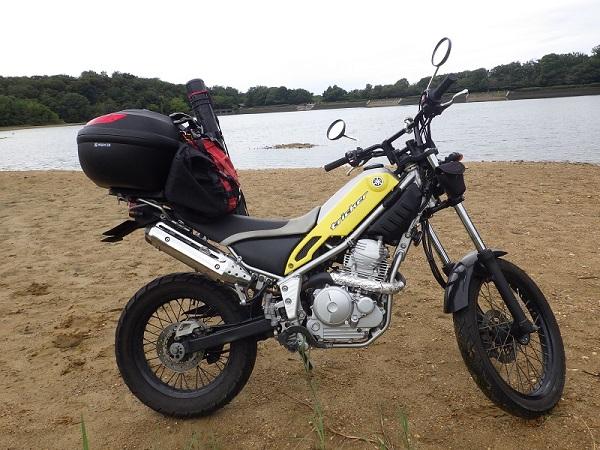 バイクで釣り~10