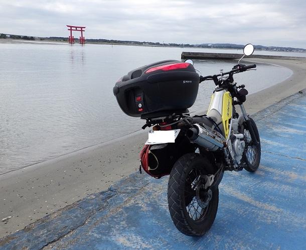 バイクで釣り~2.1