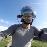 パナソニックHX-A500 ヘルメットマウントでバイク車載動画