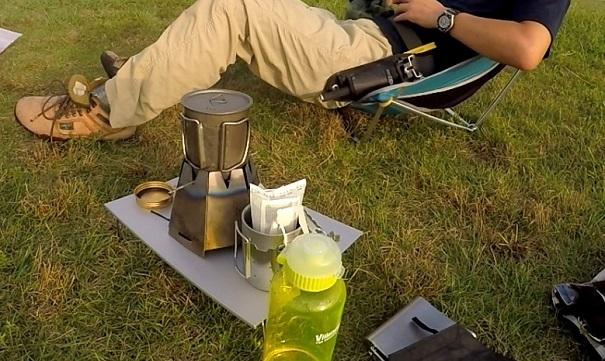 アウトドア コーヒーの基本アイテム・道具