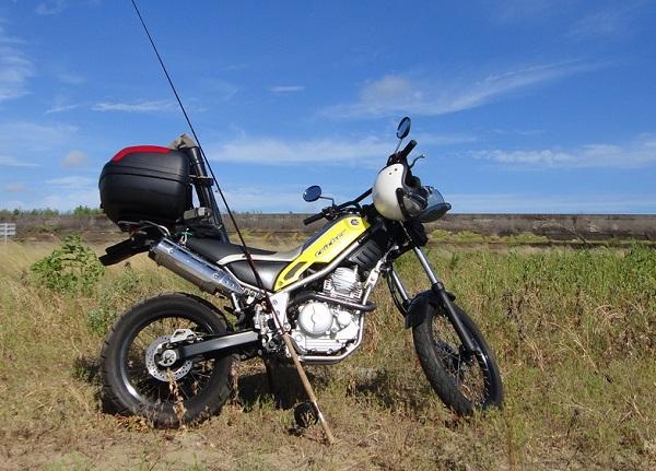 バイクで釣り トリッカー