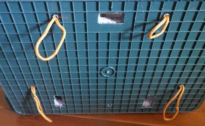 ホムセン箱リアボックスをワンタッチに近づけるための加工