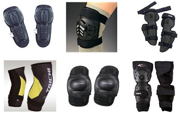 二―ガード、膝プロテクターの一覧