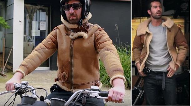 バイカーの為のフライトジャケットの着こなし