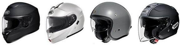 ショウエイのヘルメット一覧