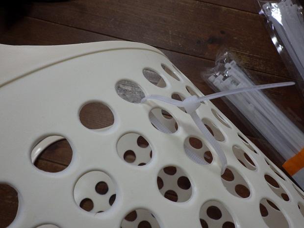 自作ラインバスケットの製作過程7