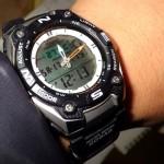 カシオの釣り用時計【レビュー】月の動きで釣りに最適な日時が分かる!