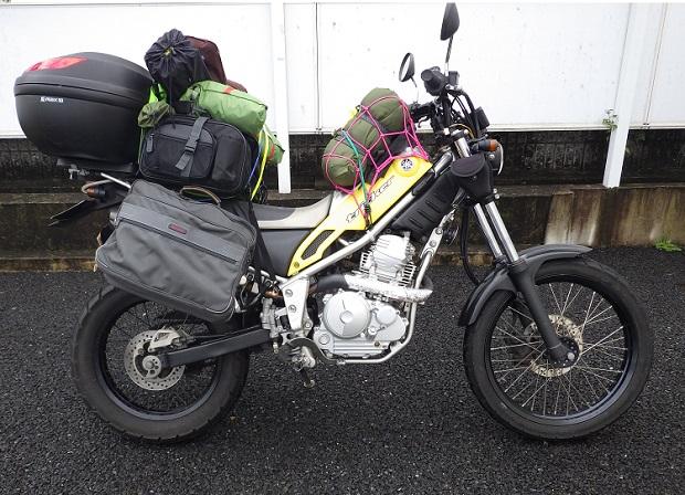 トリッカーにキャンプ・釣り道具を積載