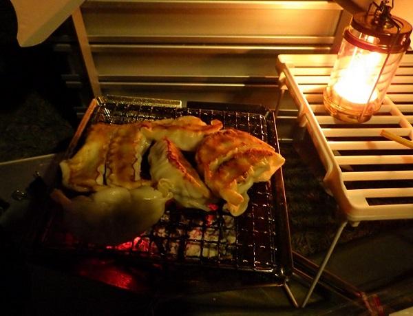 キャンプ飯 浜松餃子