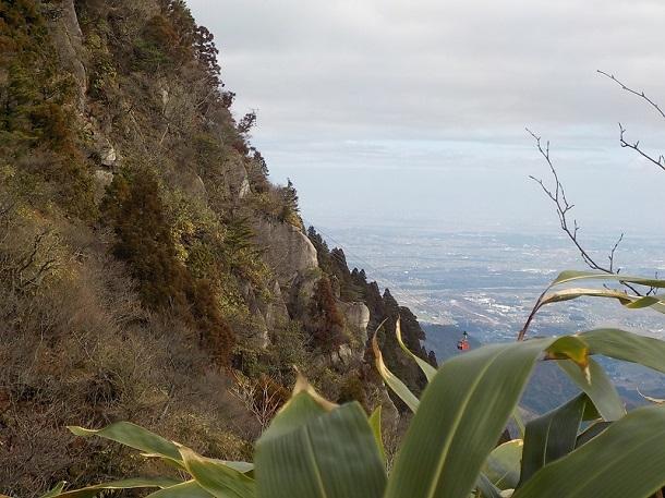 鷹見岩からの眺め