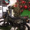 自衛隊 偵察用オートバイ KLX 250Rの紹介