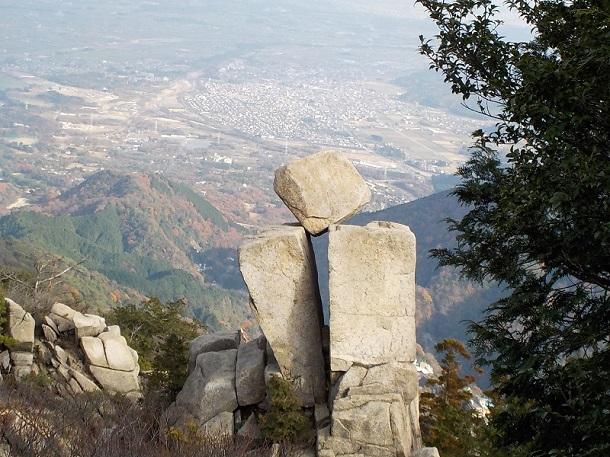 御在所岳 地蔵岩