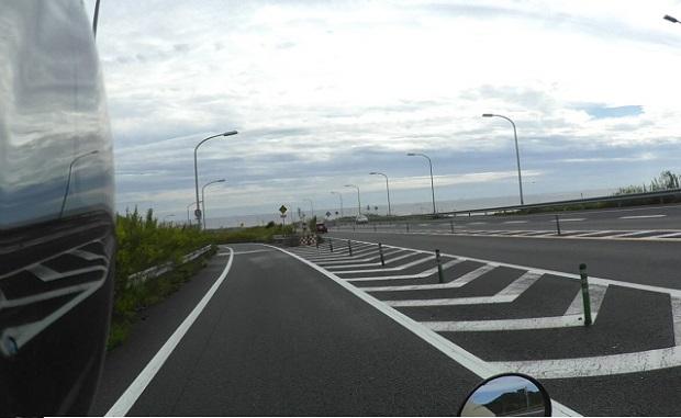 浜名バイパス 潮見坂を通過