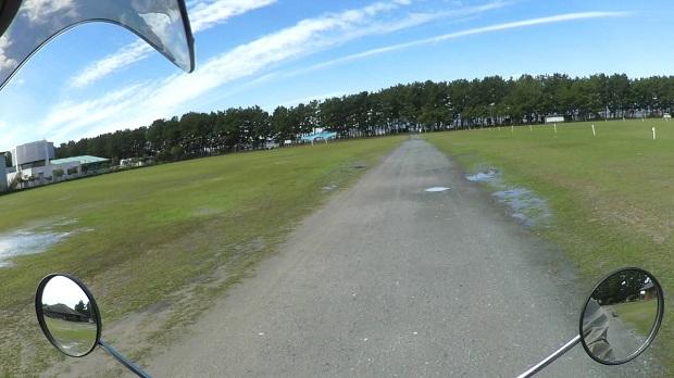 浜名湖 渚園キャンプ場に到着