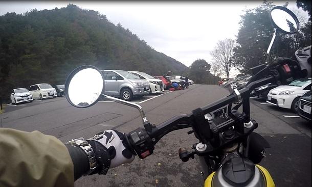 御在所岳登山道駐車場