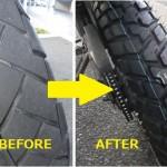 トリッカー タイヤ交換レポート■費用・工賃、インプレッション