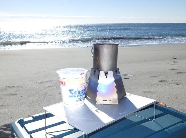 ラーツーの道具 スノーピークのマグカップ