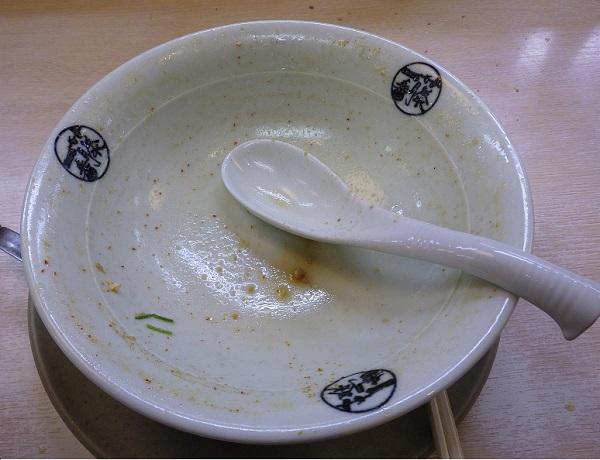 藤一番の台湾ラーメン完食