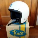 BUCOのジェットヘルメット'70当時物 BLUE LINE GT