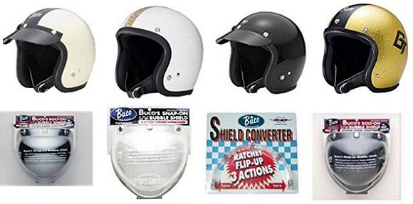 bucoのヘルメット&シールド