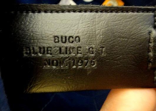 buco blue line gt ストラップ
