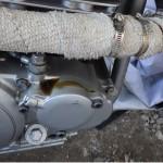 トリッカー オイルフィルターカバーからのオイル漏れの原因は…