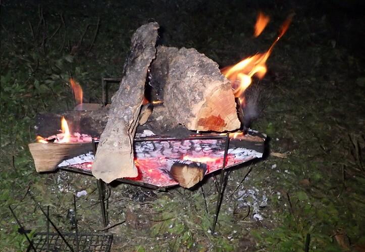 ピコグリルで焚き火レビュー