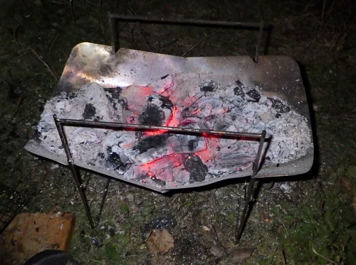 ピコグリルで焚き火レビューその2