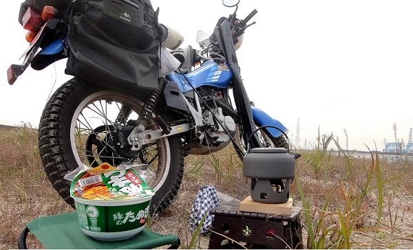 バイクでラーツー 道具と装備